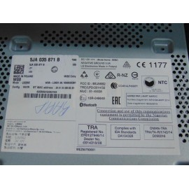 Radio CD SKODA RAPID cod: 5JA035871B