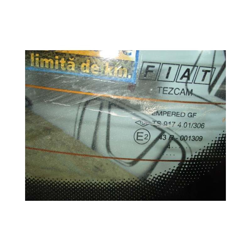 Luneta Fiat Albea - Fabricatie 2004