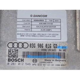 Calculator motor AUDI A4(B7) cod: 03G906016GD
