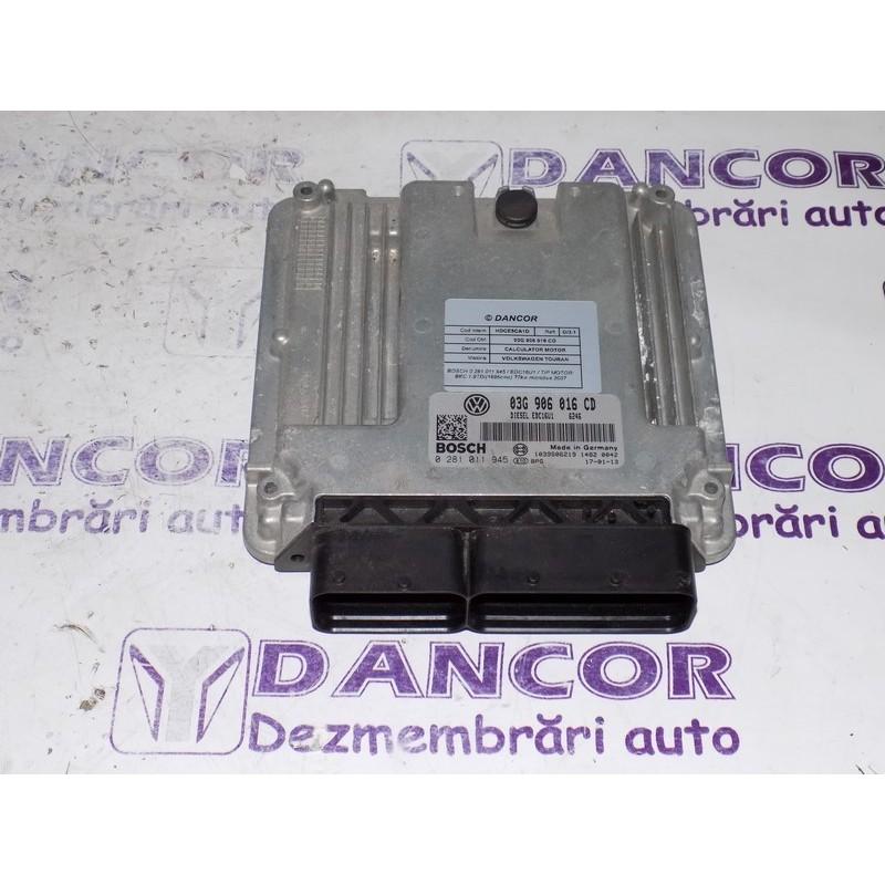 Calculator motor VOLKSWAGEN TOURAN cod: 03G 906 016 CD