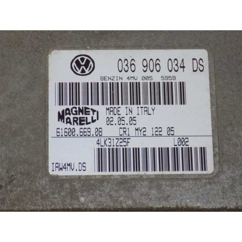 Calculator motor SEAT LEON 1.6 BCB cod: 036 906 034 DS